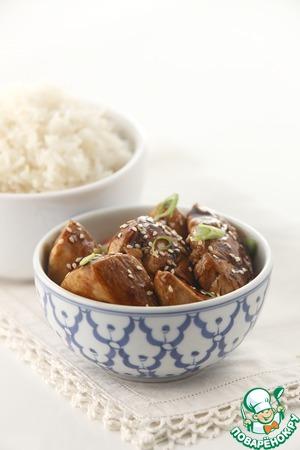 Простой рецепт приготовления с фотографиями Курица в соусе терияки