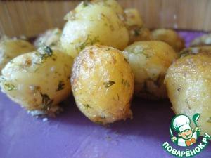 Рецепт Молодой жареный картофель