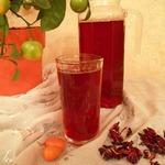 Холодный чай «Каркаде с кумкватом и имбирем»