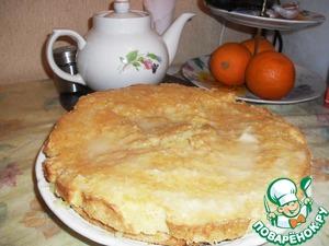 Рецепт Лимонно-морковный пирог