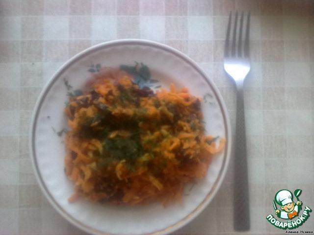 Тушеная морковь с черносливом рецепт 159