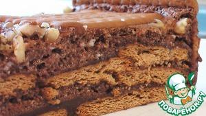 Домашний рецепт приготовления с фотографиями Торт из печенья