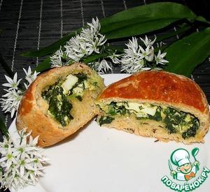 Рецепт Пирожки с черемшой