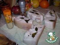 Сало в рассоле ингредиенты