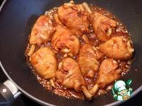 Глазированные куриные голени и жареный рис с яйцом по-кантонски ингредиенты