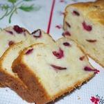 Творожный кекс с вишней (черешней)