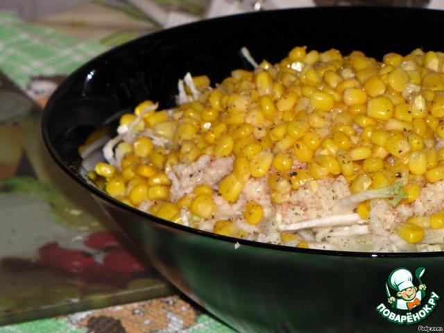 салат синьор помидор с курицей рецепт