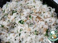 Грибы, фаршированные рисом ингредиенты
