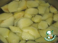Яблочно-апельсиновый компот ингредиенты