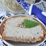 Паштет из семян подсолнуха и сладкого перца
