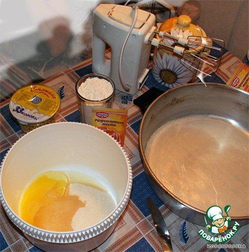 Торт королевский кулинарный рецепт