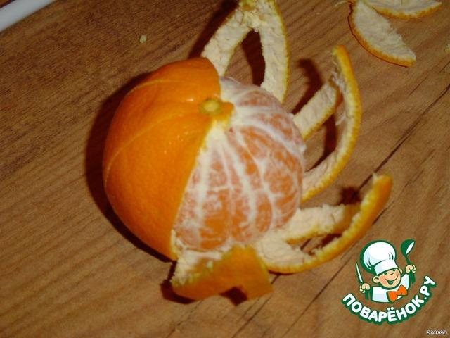 Как сделать из мандариновых