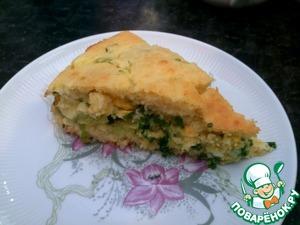 Рецепт Яично-луковый пирог