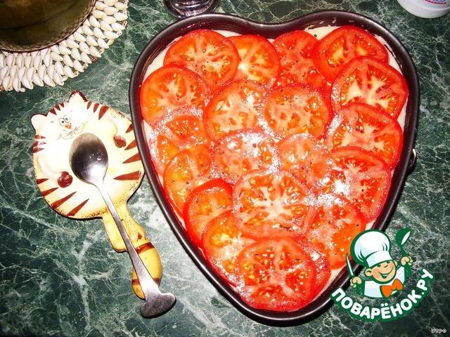 """Как готовить вкусный рецепт с фото Запеканка """"Сердце для любимого"""" #4"""