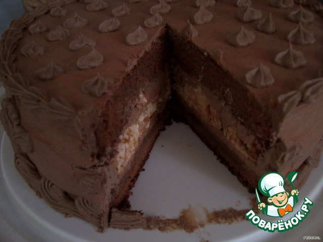 Торт шоколадное чудо с фото