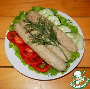 Рецепт Сосиски из телятины с молоком