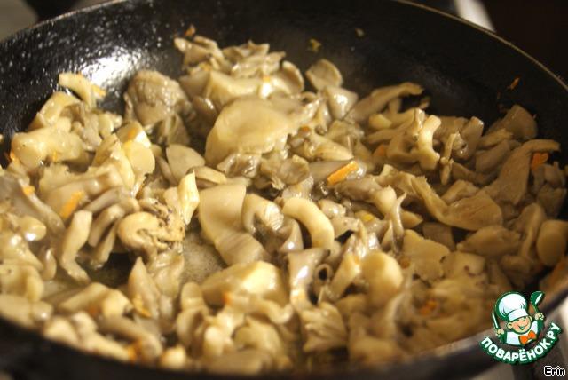 рецепт жульена с грибами и курицей в тесте