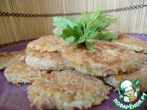 Рецепт Чипсы из кабачков в сырной корочке