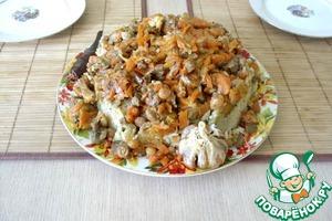 Рецепт Плов с почками и фасолью