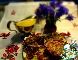 Рецепт Драники с рыбой