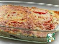 Красная рыба, запеченная под овощной шубой ингредиенты