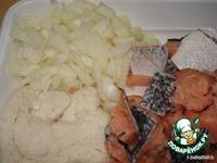 Котлеты из лосося ингредиенты