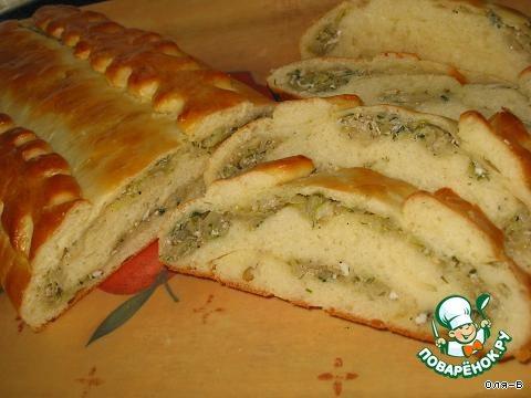 Тесто для кулебяки с капустой рецепт пошагово в духовке