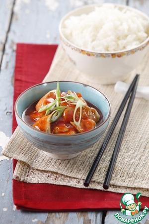 Рецепт Свинина в соусе томатный и сладкий чили