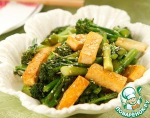 Рецепт Брокколи с тофу по-китайски