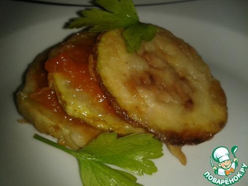 Кабачки томатном соусе рецепт фото