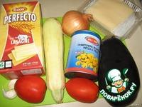 Лазанья овощная ингредиенты