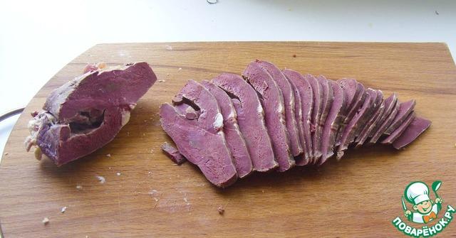 Вареное сердце говяжье рецепт приготовления пошагово