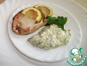 Рецепт Колбаска рыбная диетическая