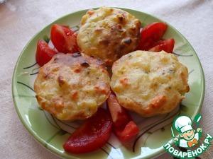 Рецепт Кекс с картофелем и сыром