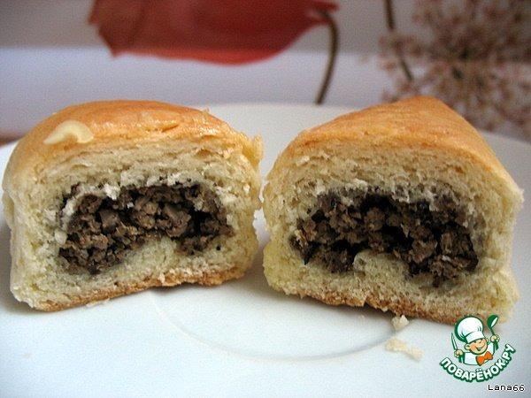 """Как приготовить Пирожки """"сердечные"""" домашний пошаговый рецепт приготовления с фото #6"""