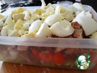 Салат с говядиной и помидорами ингредиенты