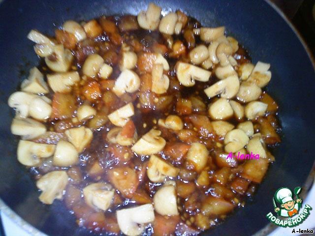 рис с грибами пошаговый рецепт