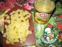 Кекс с ананасами ингредиенты