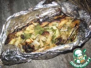 Рецепт Картошечка для самых голодных