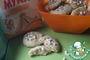 Рецепт Кукурузно-банановое печенье