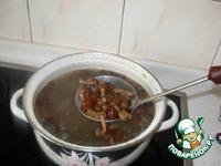 Крем-суп с опятами ингредиенты