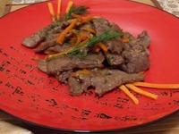 Говядина с устричным соусом ингредиенты