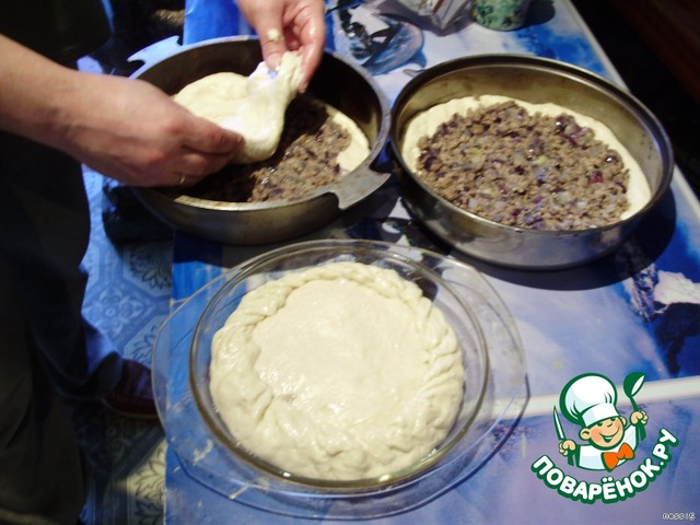 рецепт дрожжевое теста для пирога с мясом