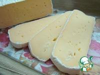 Домашний сыр с благородной белой плесенью ингредиенты
