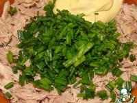 Салат Мимоза -походный вариант ингредиенты