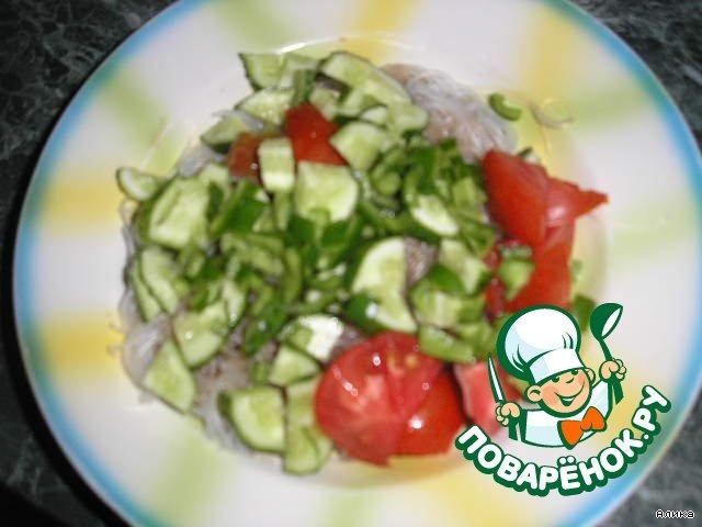 салат лянцай пошаговый рецепт без лапши