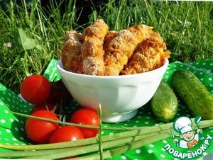 Рецепт Хрустящее куриное филе в беконе