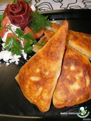 Рецепт Жареные уголки