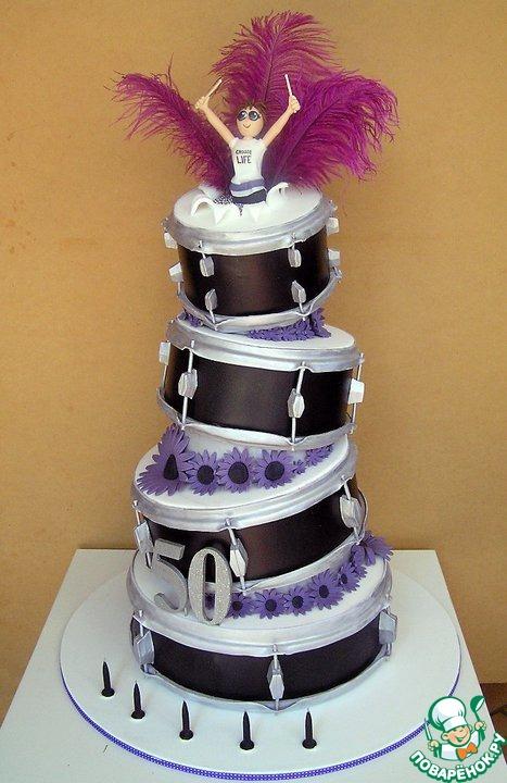 Торт с пряниками шоколадными фото 2