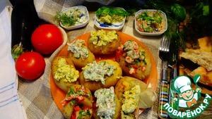 Рецепт Картошечка на барбекю